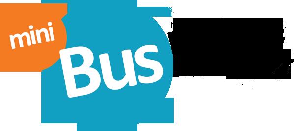 logo minibus hire