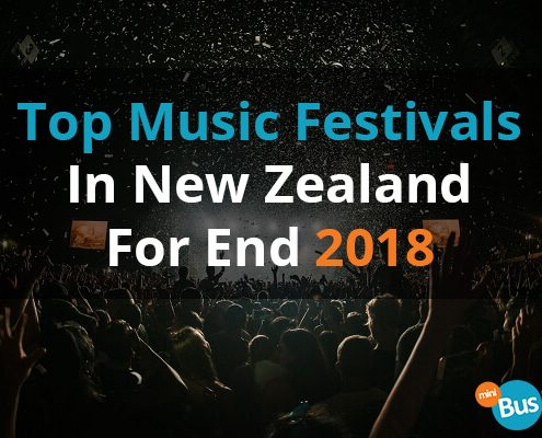 Top Music Festivals In New Zealand For End 2018